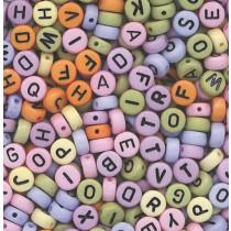 Letter Beads Multi Assorted Beads Multi