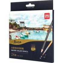 Watercolour Pencil - Paper Pack - 24 colours