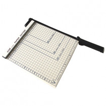 Deli Steel Paper Trimmer - Size: 254mm X 254mm