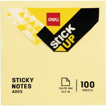 Sticky Notes - Yellow - 76×76mm/ 3×3''