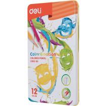 Premium Colour Pencil - 12 colours Tin Pack