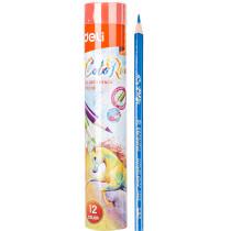 Colour Pencil - Tin Tube Pack - 12 colours