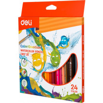 Watercolour Pencil - 24 colours