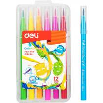 Washable Felt Pen  - 12 colours