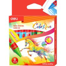 Jumbo Wax Crayons - 8 colours