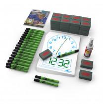 Clock-Faced Drywipe Boards
