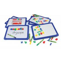 Magnetic Blue Frame Whiteboards
