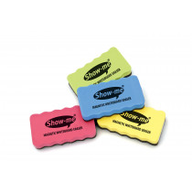 Erasers, Whiteboard, Magnetic - Assorted