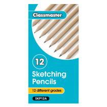 Classmaster Sketching Pencils