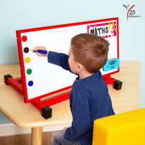 Small Individual Desktop Easel Red