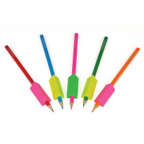 Pencil Grips, Fluorescent - Assorted