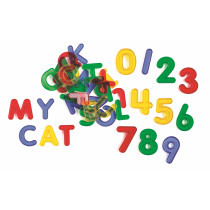 Transparent Letters and Number Set