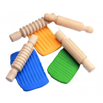 Wooden Rolling Pin Set (4)