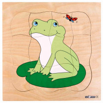 Multilayer Puzzles--Grow Up - Frog(31 pieces)