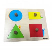 Wild animal shape puzzle