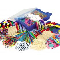 Collage Craft Storage Tray