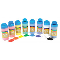 Coloured Craft Sand Shakers