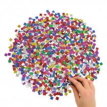 Glitter Card Mosaic Squares - Mini