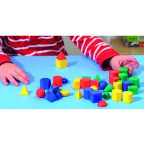 "1"" Geometric Solids"