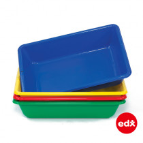 Desktop Water Tray (Red, Blue, Yellow, Green. 4 Color Set)