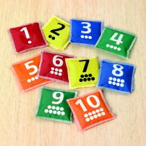 Number Bean Bags Pk10