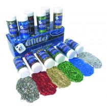 Glitter Assortment - 250gm bottles