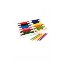 144 Jumbo Coloured Pencils - No Tray Varnished