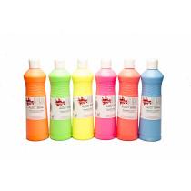 Fluorescent Ready Mixed Paints - 600Ml