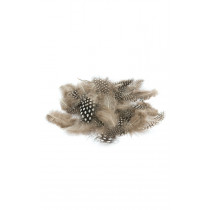 Monochrome Speckled Feathers 28G
