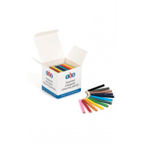 TTS Triangular Colouring Pencils Half Length 144pk