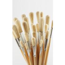Long Round Hog Brushes