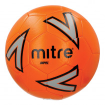 MITRE IMPEL FOOTBALL  ORANGE, SIZE 3