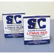 Litmus red paper