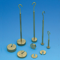 Weights slotted brass set 50g