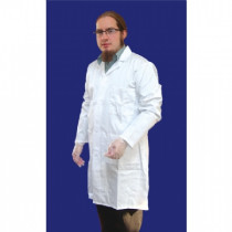 Lab coat p/cotton mens 100cm