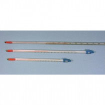 Thermometers 305mm red/spirit -10/110oC