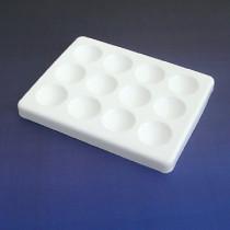 Tiles white spotting 12 cavity
