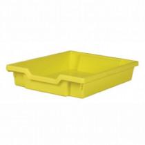Tray storage 427x312x75mm yellow