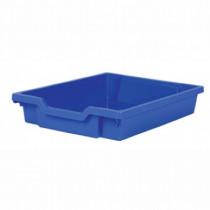 Tray storage 427x312x75mm blue