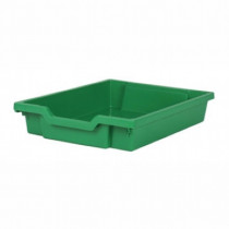 Tray storage 427x312x75mm green