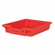 Tray storage 427x312x75mm red