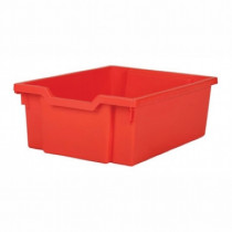 Tray storage 427x312x150mm red