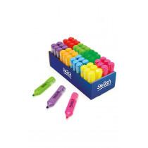 Bulk Box 48 Premium Highlighters  Asst