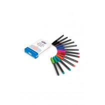 TTS Drywipe Pens 12pk assorted