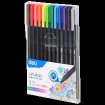 Fineliner - 12 colours