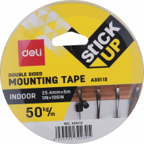 Mounting Tape  - Size: 25.4mm X 5m