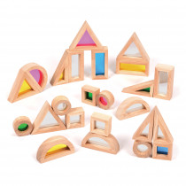 Early Excellence Set of Rainbow & Mirror Blocks