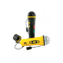 Easi Speak Microphone MP3 Recorder Yellow 5pk