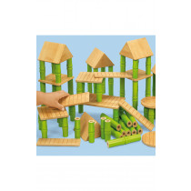 Bamboo Building Blocks 42pcs