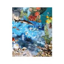 Ocean Deep Photographic Active World Mat